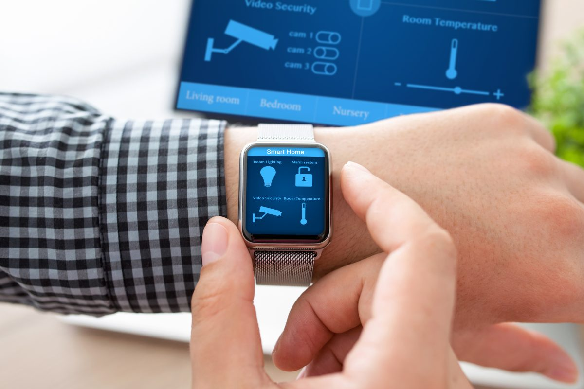 Smartwatch steuerbar